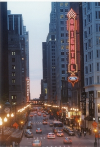 Chicago's Downtown Theater District