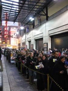 Stage Door for final WICKED performance