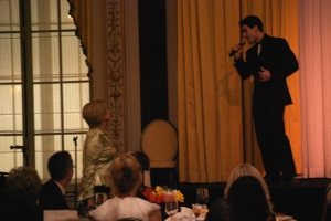 Janet Davies (ABC7) & Dominick Scaglione Jr. (Jersey Boys)