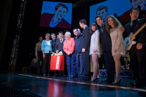 Donna & Carol with the Chicago company of Jersey Boys.