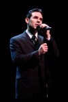 Dominic Scaglione Jr. in a scene from JERSEY BOYS. Photo: Joan Marcus.