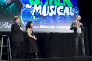 Lindsay-Abaire, Tesori and director Jason Moore