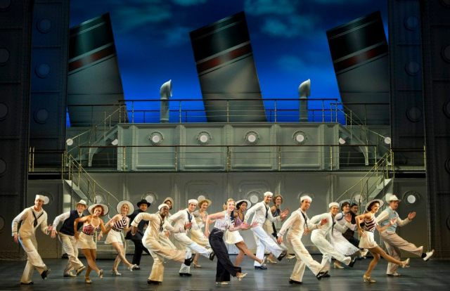 Rachel York and Company Roundabout Theatre Company's ANYTHING GOES © Joan Marcus, 2012