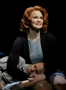 Norbert Leo Butz and Kate Baldwin (Photo by Paul Kolnik)