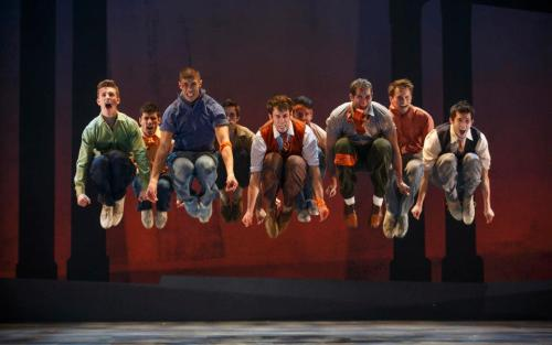 West Side Story Company. © Carol Rosegg 2012