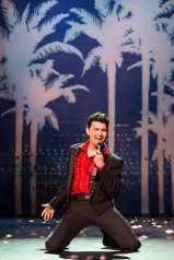 Ryan Jagru as Ritchie Valens in Buddy – The Buddy Holly Story.  Photo: Hilary Camilleri